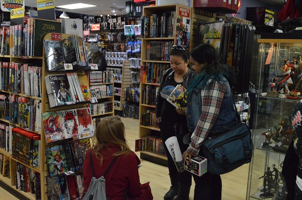 GGB NYC Kick Ass Women In Comics Brunch Geek Girl Brunch