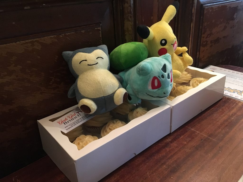 Some Pokémon friends joined us for the occasion
