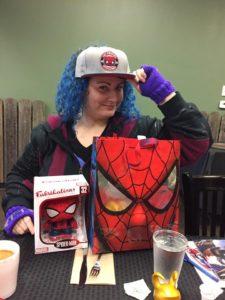 Spider-Man prize pack winner